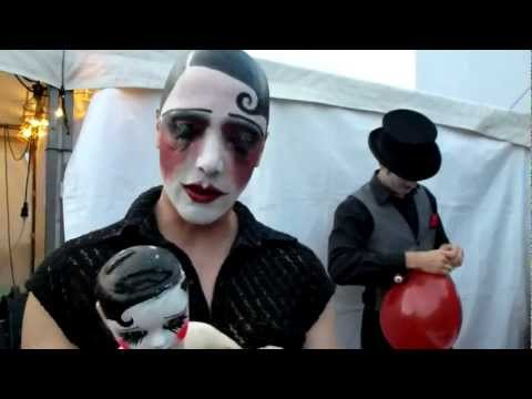 Video: Backstage At Sideshow Macabre, Speigeltent