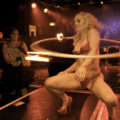 Anna The Hulagan can be seen at the World Burlesque Games on 8 May.