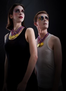 Clown royalty: Audacity Chutzpah and Mannish collaborate in 2012: an Olympic Vaudeville