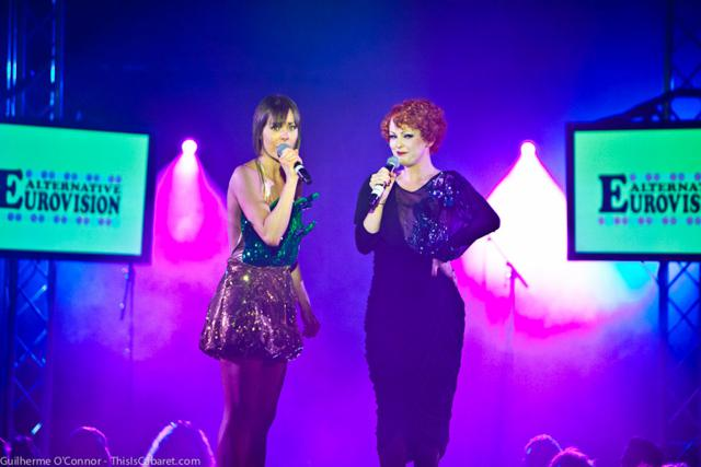 Anna Greenwood and Lili La Scala