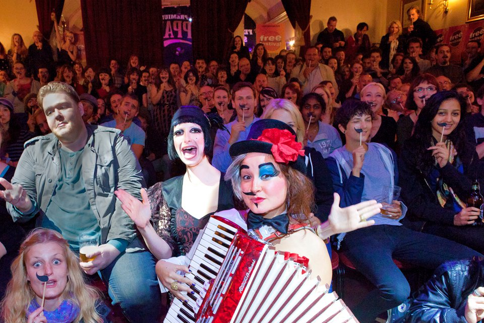 EastEnd Cabaret Celebrates Three Years of Salacious Songs, Gin and Half-Moustaches