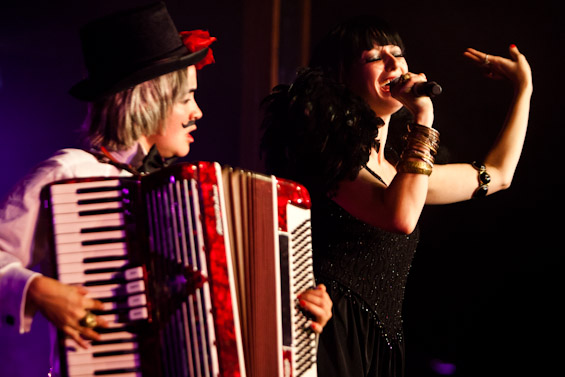 EastEnd Cabaret plays the Priceless London Wonderground spiegeltent for three dates only