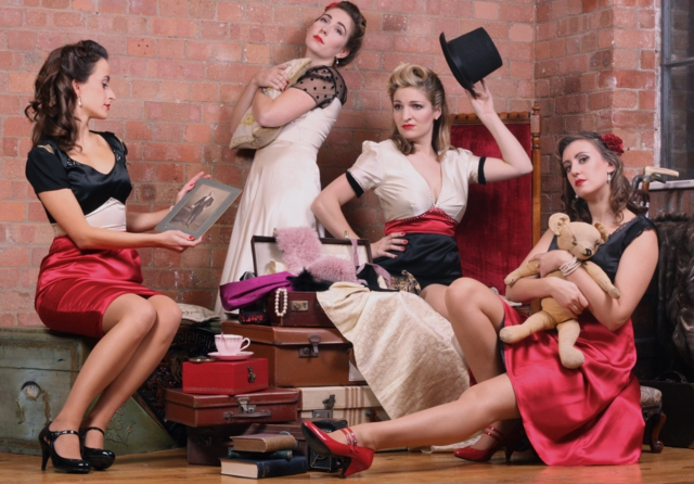 The Ruby Dolls use musical comedy to bring to life stories of their ancestors.