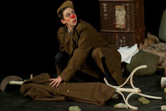 Leela Bunce (burlesque clown Audacity Chutzpah) brings Waiting for Stanley to the Edinburgh Festival Fringe