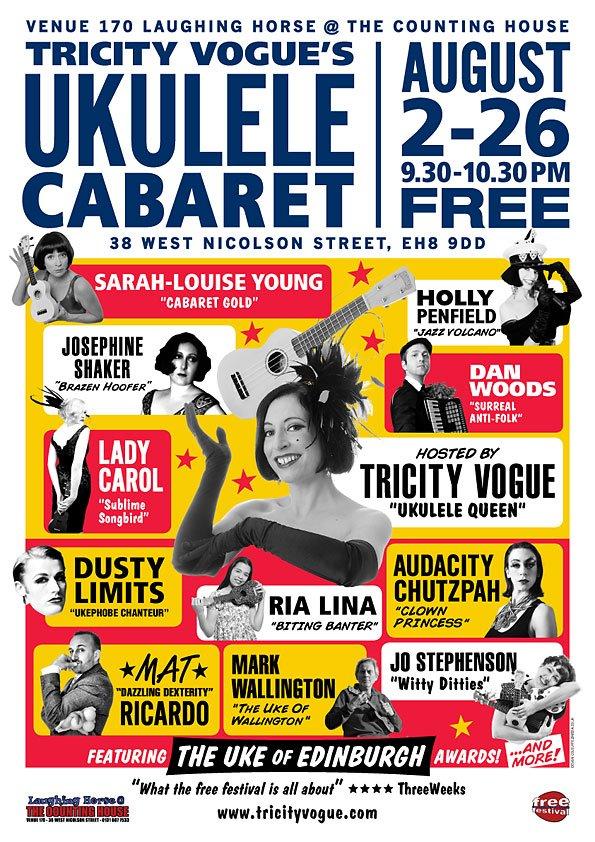ukulelecabaret-tricityvogue-edinburgh2012-poster