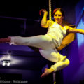 Aerialist Imogen Hoops is a Mary Poppins that doesn't need an umbrella to fly
