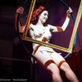Aerialist Imogen Hoops framed at Cool Britannia