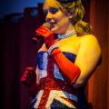Compère Lady Beau Peep hosts Cool Britannia