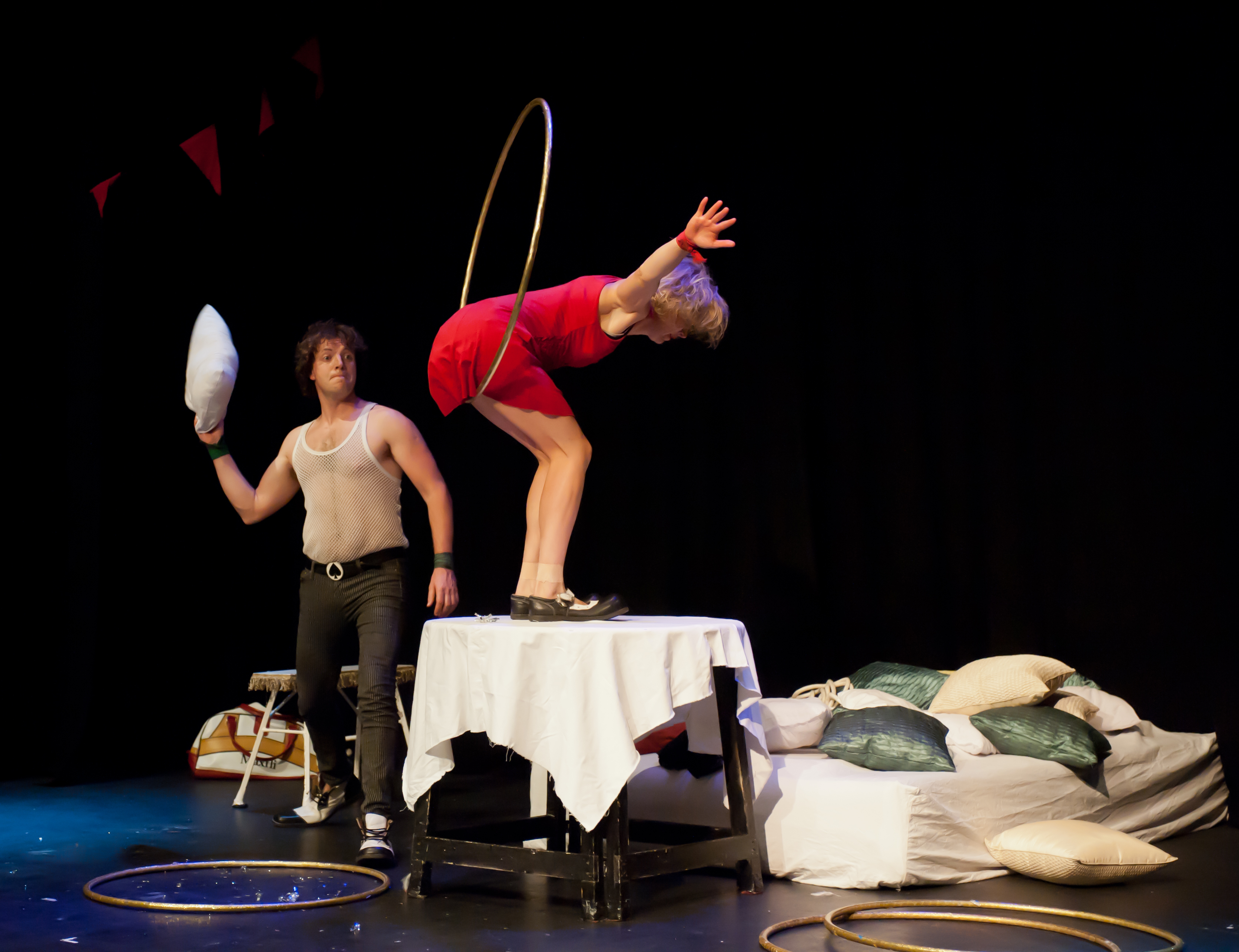 Tumble Circus: spot-on comic timing in a refreshing change from traditional circus shows