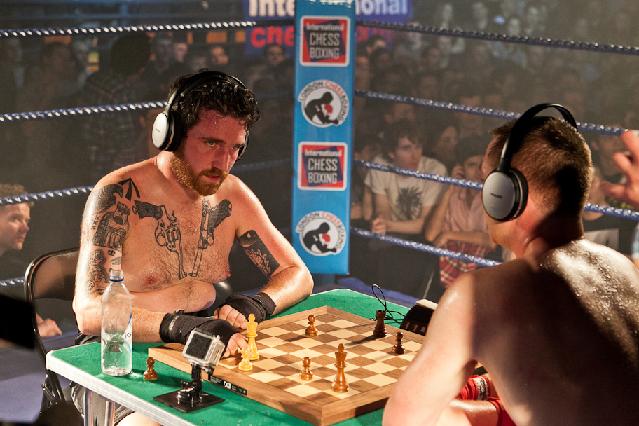 Win Tickets to See Chessboxing This Saturday