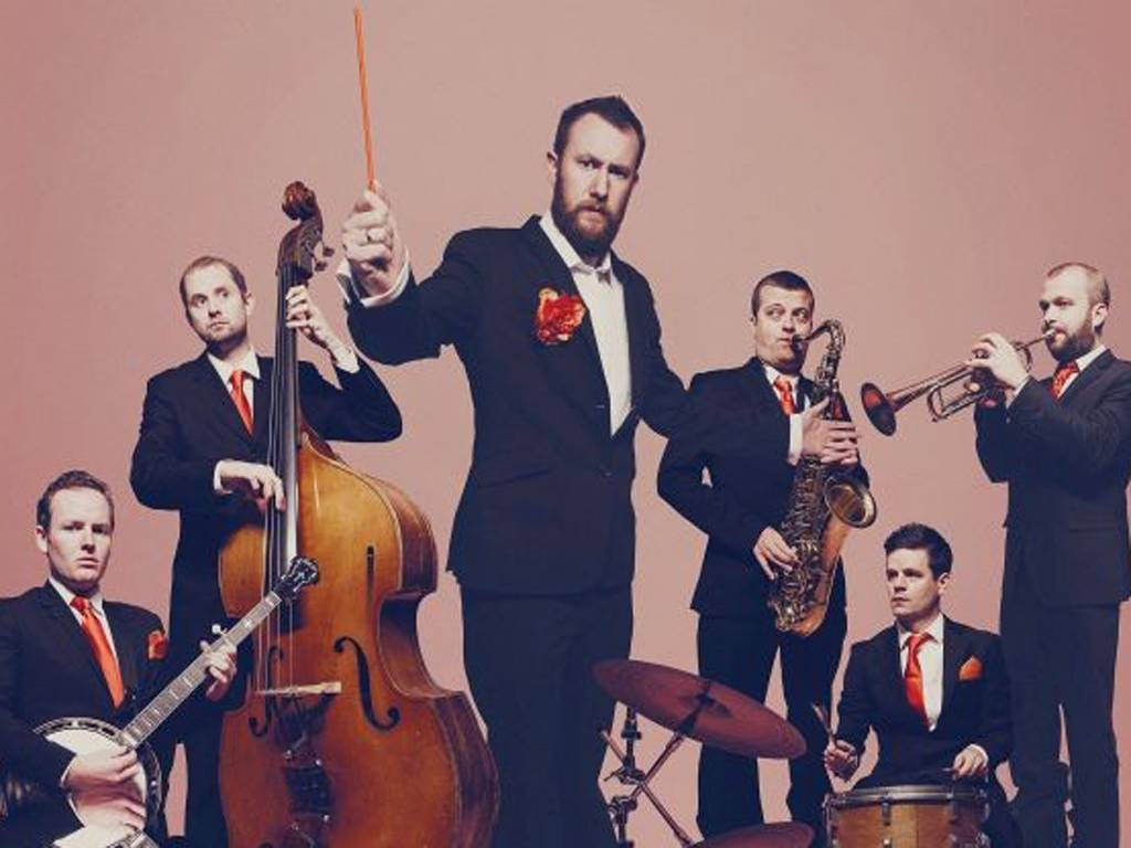 The Horne Section combine comedy, music and a carousel of guest acts.