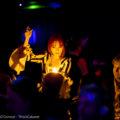 Presto! Close-up magician Laura London was on fire at the last La Rêve