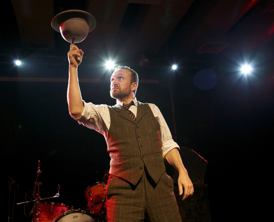 This year, Mat Ricardo has been nominated twice: as Best Speciality Act and for his own show London Varieties.