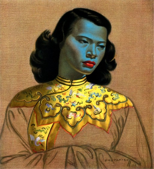 Vladimir Tretchikoff's Chinese Girl, also known as The Green Lady