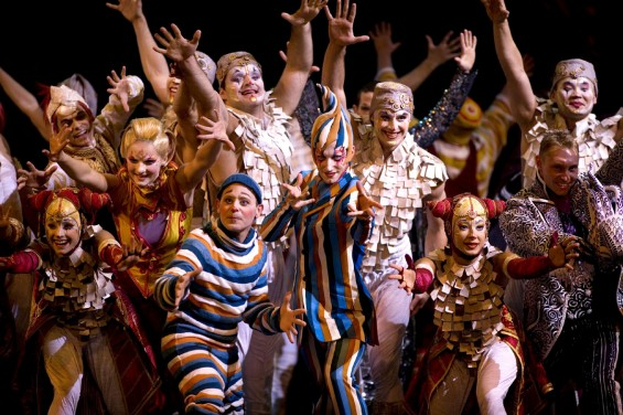 Cirque du Soleil's Kooza will be at the Royal Albert Hall until February 10.