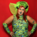 Be loud and be proud: Hamburger Queen is not for shrinking violets, greens or other hues.