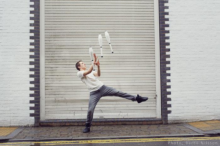 Say Hello To Matthew Green, Juggler