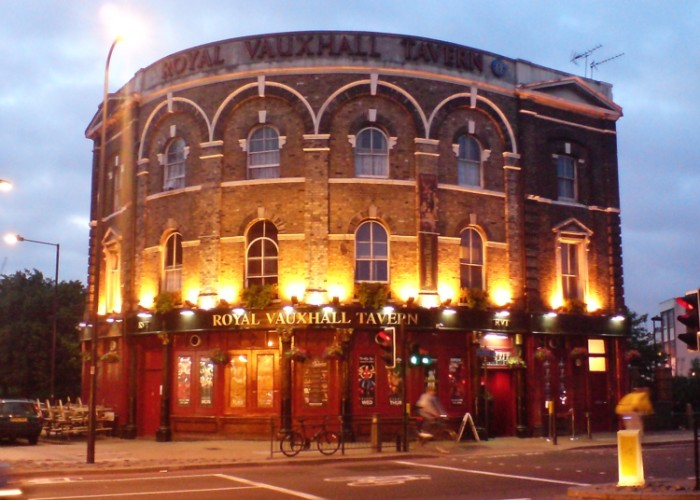 The Royal Vauxhall Tavern today.