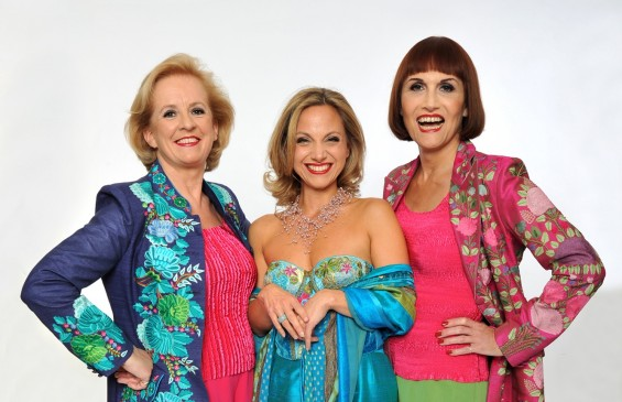 The Fascinating Aïda trio (Dillie Keane, Liza Pulman and Adele Anderson) are dashing around the country with their show Charm Offensive.