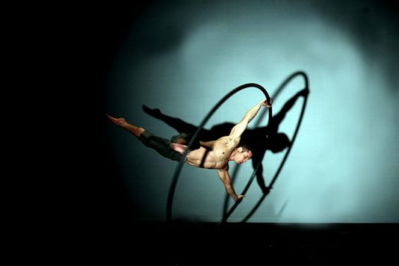 Chaos and comedy all up in the air: Flown will be at the Udderbelly until 22 June.