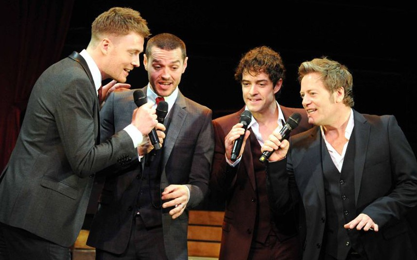 See What The Boys In The Backroom Will Sing: The West End Men, Vaudeville Theatre