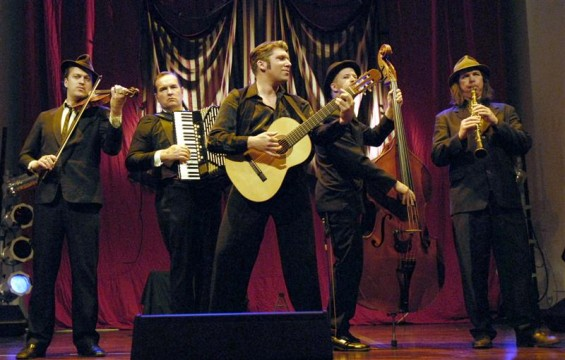 Dark cabaret band Mikelangelo And The Black Sea Gentlemen walked off with a pair of awards.