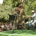 Umbrella Joust at the Chap Olympiad 2013