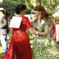 The Flirtinis were in the crowd at the Chap Olympiad 2013