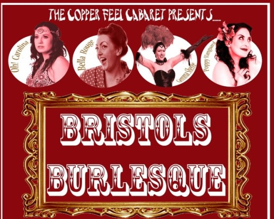 The next Copper Feel Cabaret event is on 13 July.