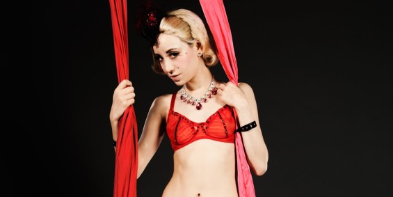 Have our prayers been answered? Sunday sees a new variety night at the Hippodrome Casino courtesy of international burlesquer Chrys Columbine.