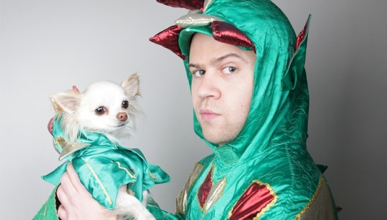 One man and his dog: Piff The Magic Dragon comes fourth in EdTwinge's poll.