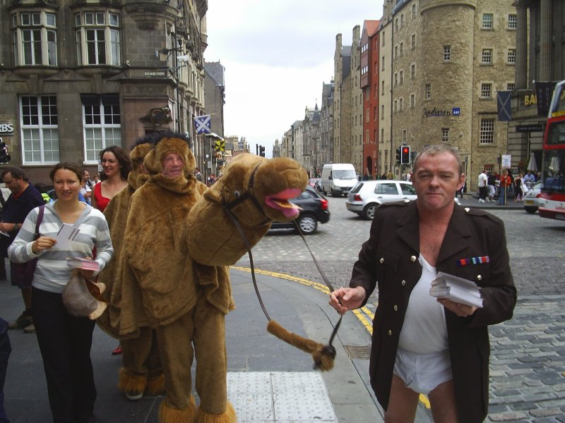 Edinburgh Fringe Special: Ten Uses For That Flyer You're Holding