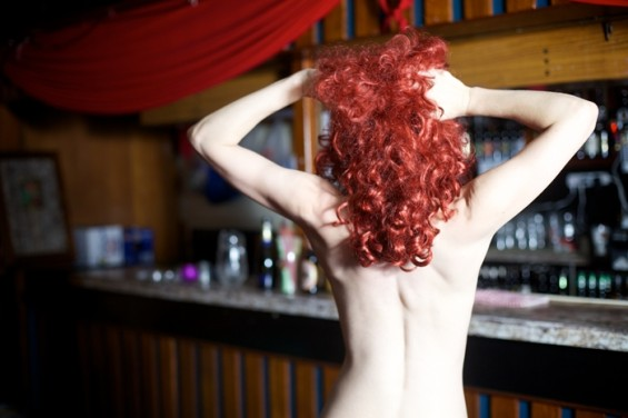 The All Nude Cabaret Charity Calendar 2014 attracted the cream of London's cabaret scene.