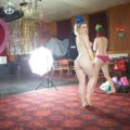 Behind the scenes of the All Nude Cabaret Charity Calendar 2014