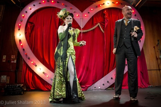 Hosts Lili La Scala and Mat Ricardo oversaw a bonanza of vaudeville delights.