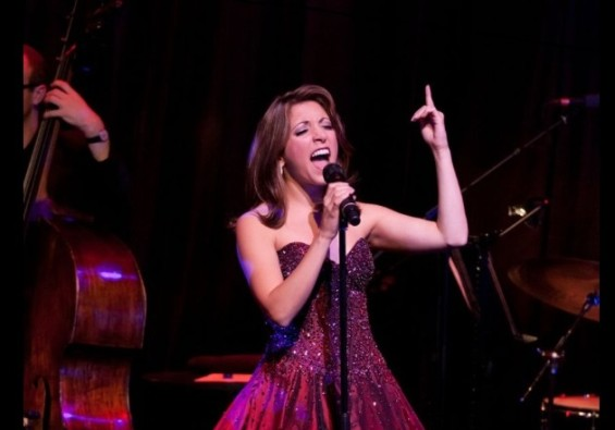 Christina Bianco performing at the Hippodrome Casino