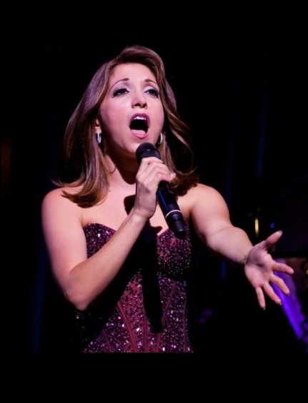 Viral victory: Christina Bianco's four London shows were sellouts.