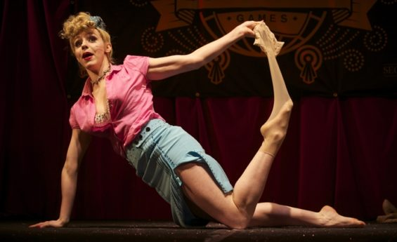 Peggy De Lune will be one of the British performers appearing at the New York Burlesque Festival