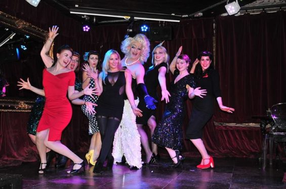 Burlescapade brought together graduating students from two different burlesque schools.