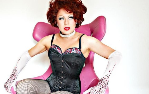 La Voix joined the London Gay Men's Chorus for their Halloween bash