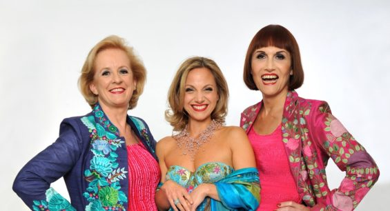 Fascinating Aida: Dillie Keane, Liza Pulman and Adele Anderson. Image: Steve Ullathorne