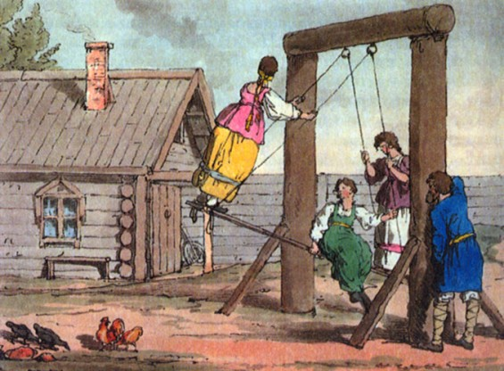 An early example of the Russian Swing