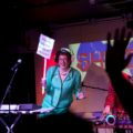 Lorraine Bowen and Karina Townsend as The Chalkwell Ladies Drum 'n' Bass League at Shindig (c) Holly Revell