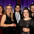Judges of the frst London Cabaret Awards which took place aboard the barge: Catia Ciarico, Lisa Lee, Ben Walters, Jayne Hardy and Alexander Parsonage