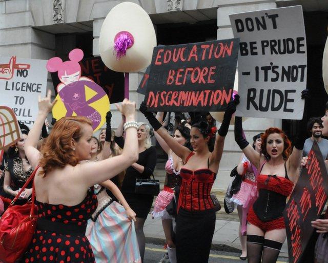 Facebook Is Censoring Burlesque Adverts