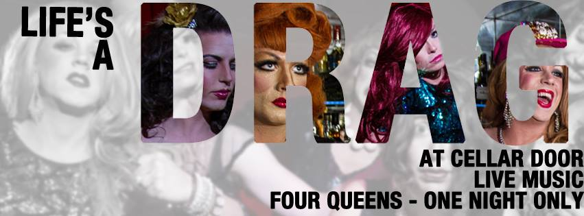 Next Monday sees four queens and one show in a special venue.