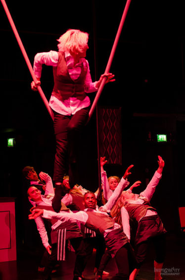 Alice Ellerby and the cast of Façade IMAGE: Inept Gravity