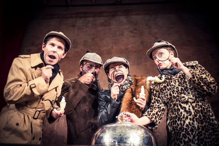 Review: Mrs Hudson's Christmas Corker, Wilton's Music Hall