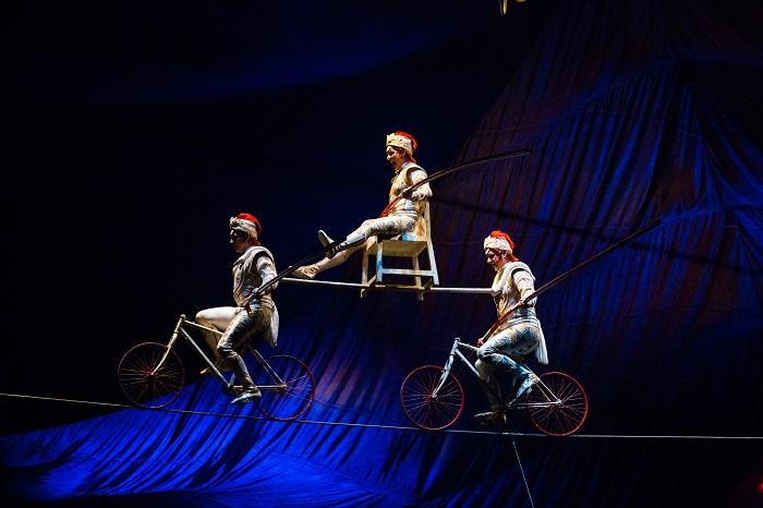 Cirque Du Soleil's Kooza continues at the Royal Albert Hall until 19 February.