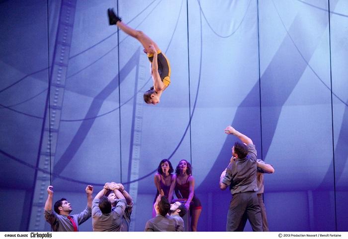 Review: Cirque Eloize's Cirkopolis, Sadler's Wells